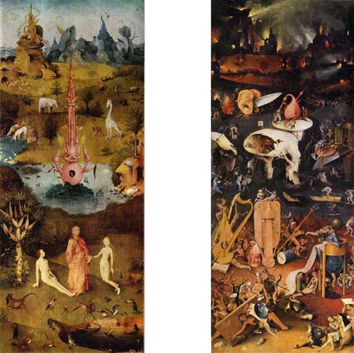 Garden Of Earthly Delights By Hieronymus Bosch Pop
