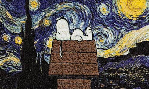 snoopy-starry-sttarry-night