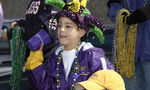 Alexandria-Mardi-Gras-Child