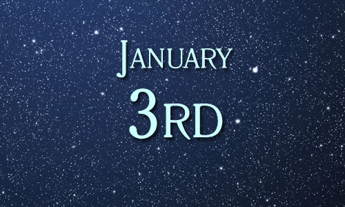 January 3 in Pop Culture History