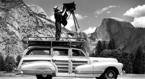 Ansel Adams Born February 20, 1902
