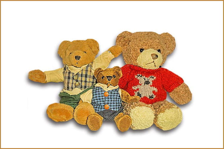 The First Teddy Bear – February 15, 1903