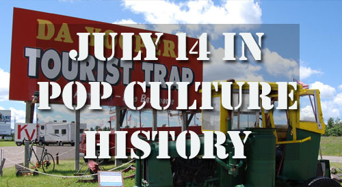 July 14 in Pop Culture History