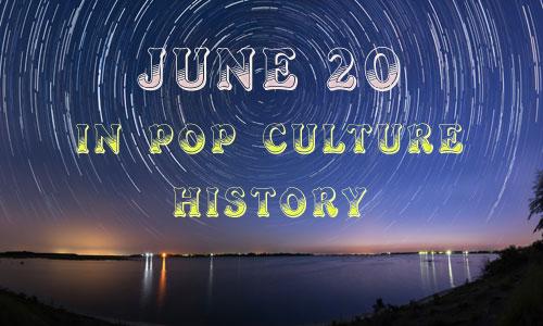June 20 in Pop Culture History – National Vanilla Milkshake Day