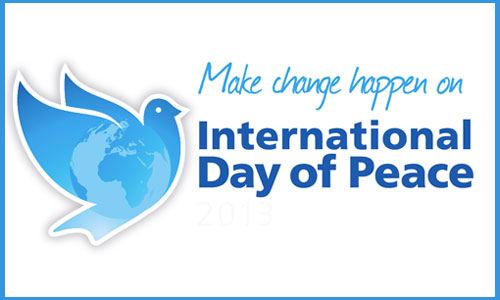 November 17 is The International Day of Peace