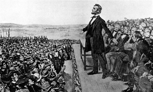 November 19, 1863 President Lincoln Delivers The Gettysburg Address